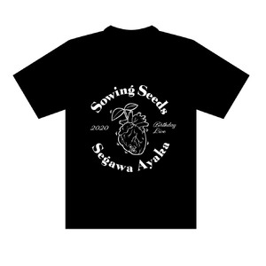 【Birthday Live 2020〜Sowing Seeds〜】Tシャツ ブラック