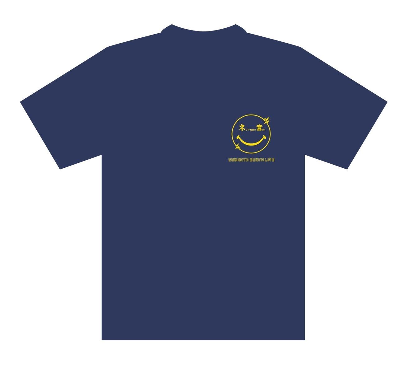 【SEGAAYA DENPA LIVE~ネットで会おう音(ね)~】Tシャツ ネイビー